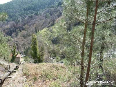 Cascadas de Gavilanes - Pedro Bernardo;trekking y aventura pedriza rutas de senderismo